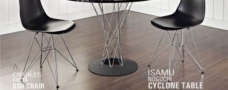 DSR Chair y Cyclone Table